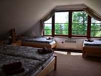 apartmán č. 3, ložnice - chata k pronájmu Horní Planá