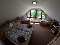apartmán č. 3, ložnice - Horní Planá