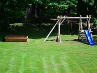 dětské hřiště - chata k pronájmu Horní Planá