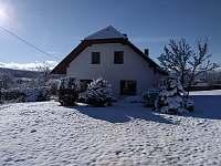 zima 2020 - pronájem chalupy Záluží