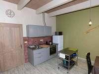 apartmán AVIATIK kuchyňský kout