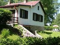 Dovolená pro rybáře na Vltavě: Chata k pronajmutí - Jenišov