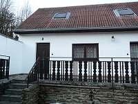Chalupa Týřovice - vstup