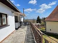 terasa - chalupa ubytování Týřovice
