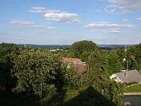 výhled z balkonu - Týřovice