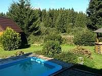 bazenek a zahrada - Černá v Pošumaví - Plánička