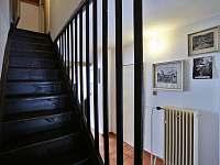 schody do 1.patra - Černá v Pošumaví - Plánička