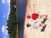pláž v Nové Peci - Nová Pec