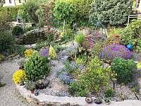 zahrada na jaře - Nová Pec