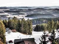 Lipno lyžování Kramolín