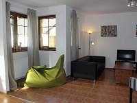 Ubytování Vakantiehuis Villa Park Lipno 200 - obývací pokoj