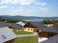 Ubytování Vakantiehuis Villa Park Lipno 200 - výhled na jezero