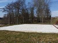Beach-volejbalové hřiště 400m od ubytování