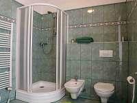 koupelna zelený apartmán