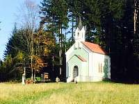 Vila Lipno Frymburk - kaple Marta -