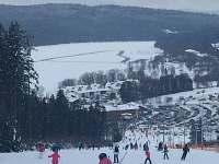 Vila Lipno Frymburk - Kramolín a bruslařská dráha na Lipně