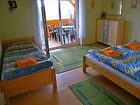 Ložnice - chalupa ubytování Lenora - Zátoň