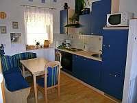 Vybavená kuchyně - chalupa ubytování Lenora - Zátoň