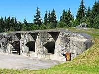 pevnost Hanička - Klášterec nad Orlicí - Zbudov