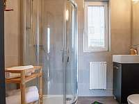 Koupelna a WC - pronájem apartmánu Svitavy