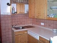 Kuchyně - chata k pronajmutí Bílá Třemešná