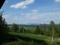 Výhled z balkonu - Bílá Třemešná