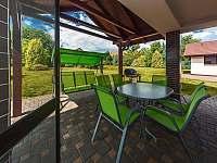 Zahrada - chata ubytování Jeníkovice
