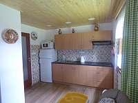 Kuchyň - chata ubytování Seč
