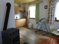 Obývací část - chata k pronajmutí Seč