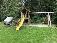 dětské hřiště - chata k pronájmu Seč - Kraskov