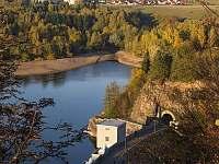 hráz sečské přehrady - Seč - Kraskov