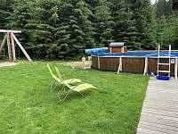 přístup k bazénu - chata k pronájmu Seč - Kraskov