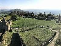 zřícenina hradu Lichnice s vyhlídkou - Seč - Kraskov