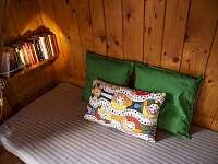 ložnice - chata k pronajmutí Strakov