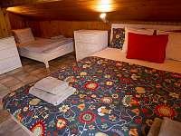 ložnice - chata k pronájmu Strakov