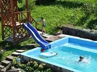 bazén - chata k pronájmu Brod - Heřmanice nad Labem