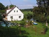 sjezd Labe - chata ubytování Brod - Heřmanice nad Labem