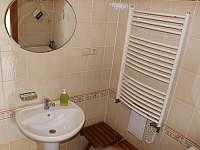 apartmán - koupelna - Helvíkovice