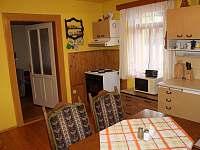 apartmán - kuchyň - Helvíkovice
