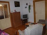 apartmán - pokoj s TV - ubytování Helvíkovice