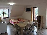 Bytové studio č. 1 (6os.) TV s pozemní anténou a SAT - Helvíkovice
