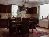 kuchyň - chalupa ubytování Semín