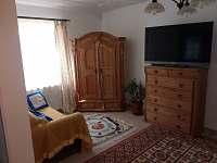 obývací pokoj - chalupa ubytování Semín