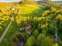 Hill Valley - letecký záběr - apartmán ubytování Doly