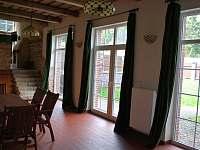 stodola - sál - chalupa ubytování Borušov - Svojanov