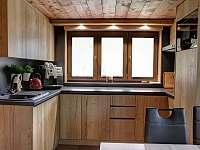 Kuchyň - chata k pronajmutí Hlinsko