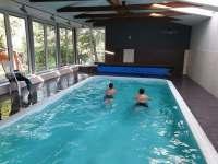 Celoroční vyhřívaný bazén - Jetřichov