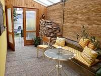 zastřešená veranda s posezením - Chlumec nad Cidlinou