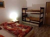 dvoupatrová postel - Prosíčka u Sečské přehrady