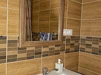 koupelna - pronájem chalupy Prosíčka u Sečské přehrady